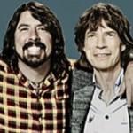 Mick Jagger actuó con Foo Fighters y Arcade Fire en SNL