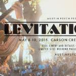 Levitarás con el cartel del Austin Psych Fest 2015