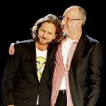 Eddie Vedder y Pete Townshend se unen en un concierto benéfico
