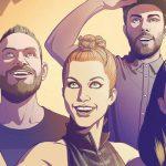 CHVRCHES estrenan el videoclip animado de 'Bury It'
