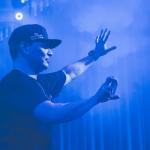 Mix Master Mike (Beastie Boys), en Barcelona el 15 de agosto