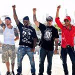Prophets Of Rage actuaron en una azotea de Skid Row (Los Ángeles)