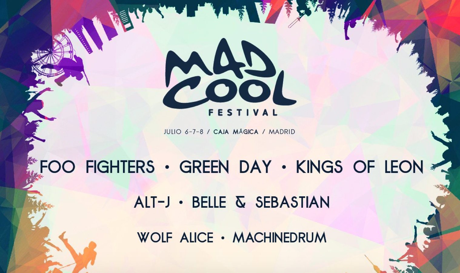 mad cool 2017 kings of leon alt j