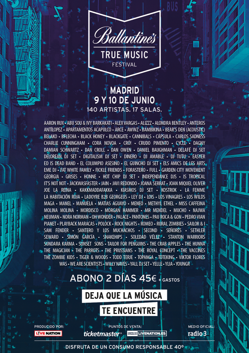 cartel ballantines true music festival