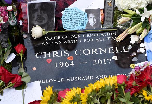 chris cornell entierro