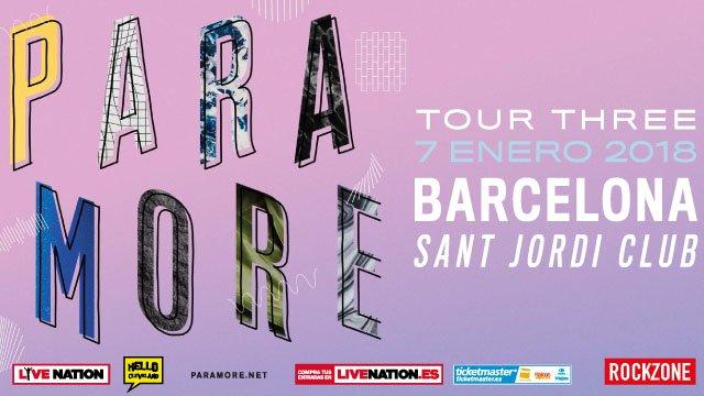 paramore barcelona 2018