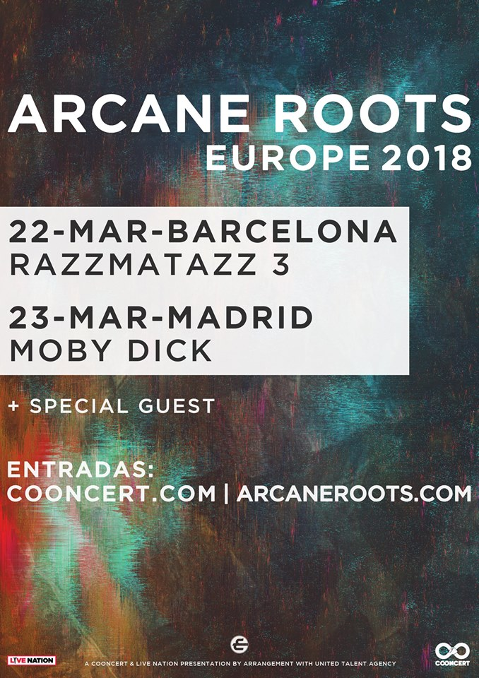 arcane roots barcelona madrid 2018