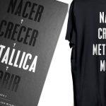 """Sorteamos dos libros (y dos camisetas) de """"Nacer•Crecer•Metallica•Morir"""""""