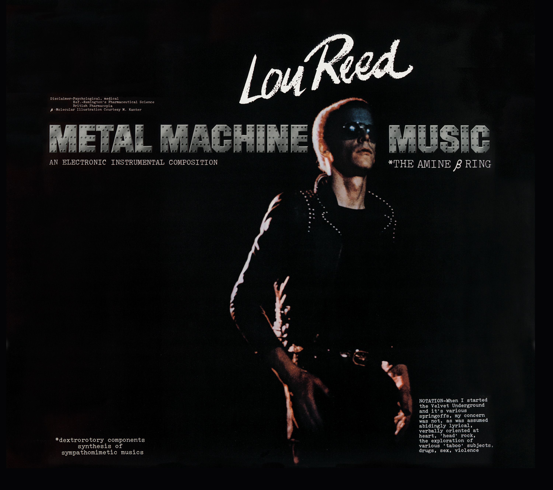 La Papelera Lou Reed Metal Machine Music 1975 Binaural