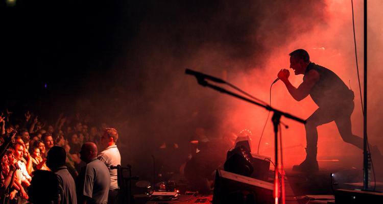 1 hora y media del directo en HD de Nine Inch Nails
