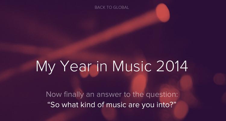 musica mas escuchada 2014 spotify