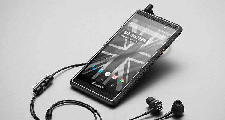 Marshall ha creado su propio smartphone rockero junto a Android