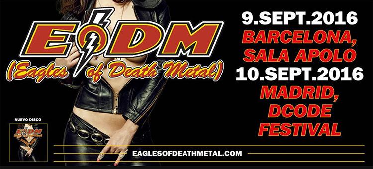 eagles of death metal dcode barcelona