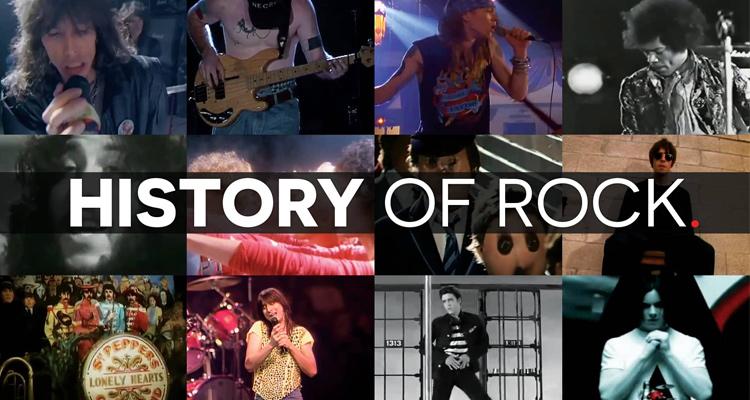 video historia rock