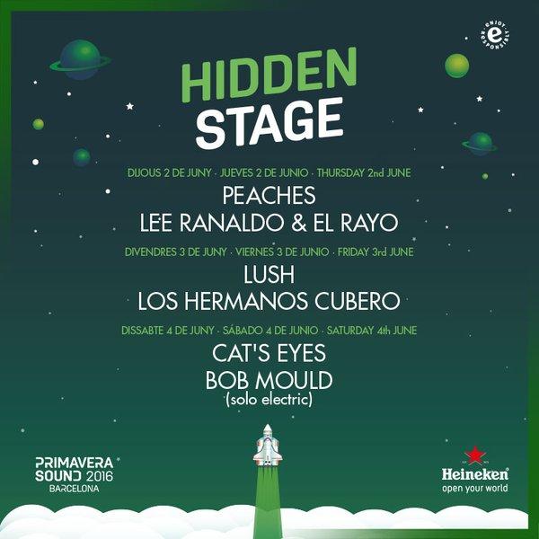 primavera sound hidden stage