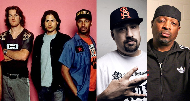 grupo rage against the machine cypress hill public enemy