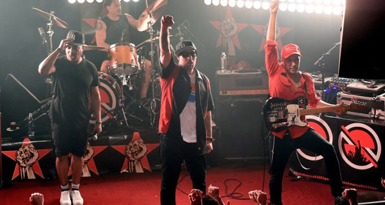 prophets of rage videos primer concierto