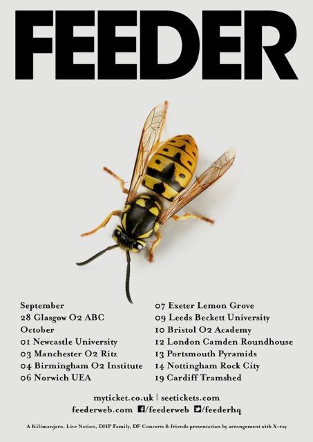 Feeder - 2016 Tour