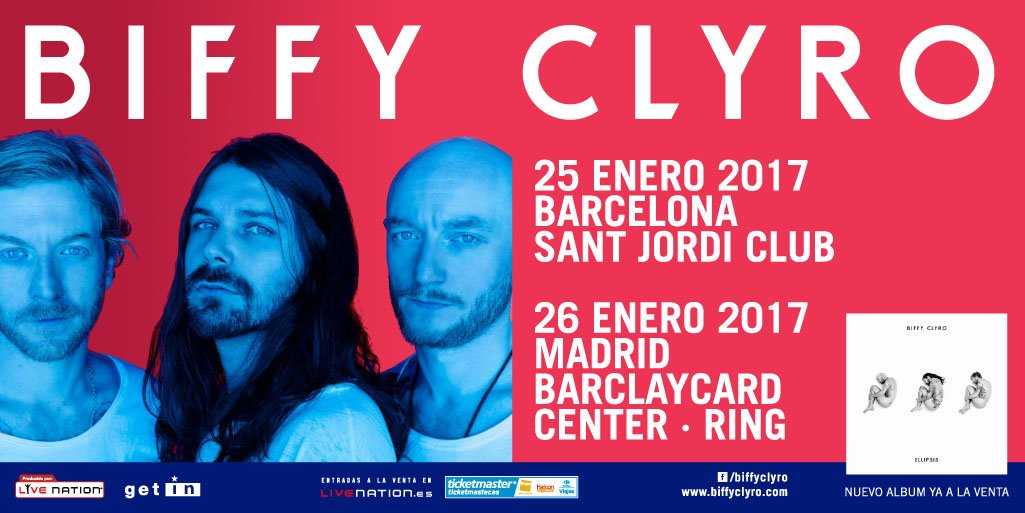 biffy clyro barcelona madrid 2017