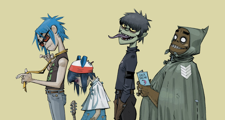 documental gorillaz