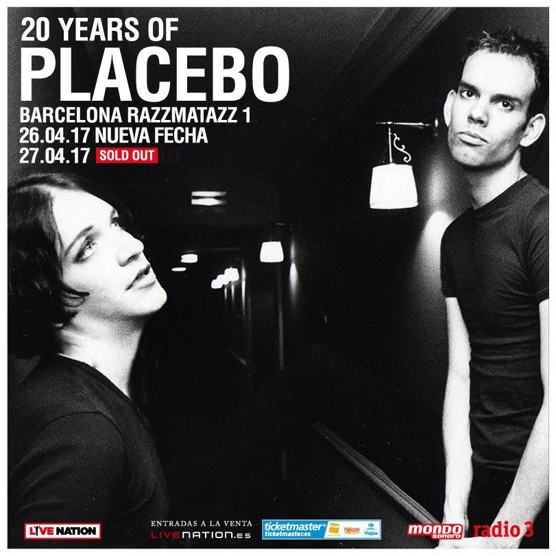 placebo barcelona segundo concierto