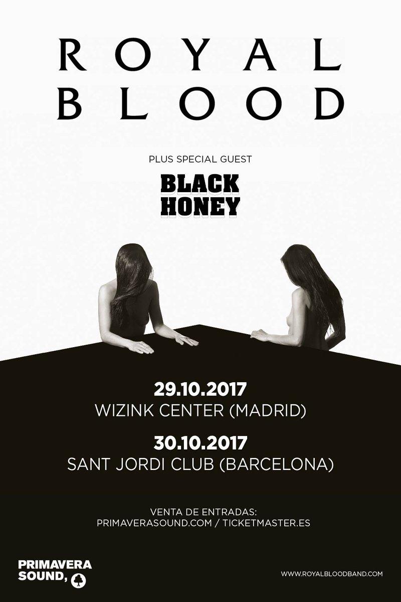 royal blood barcelona madrid 2017