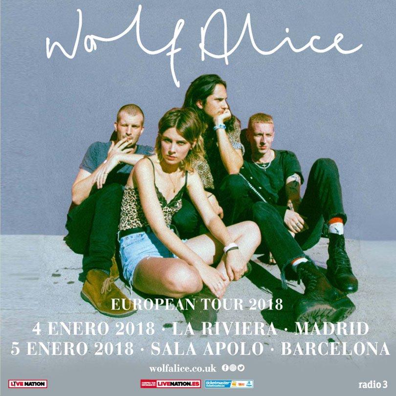 wolf alice barcelona madrid 2018