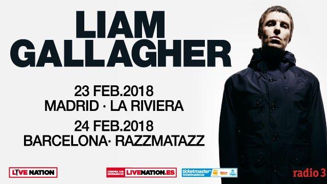 liam gallagher concierto barcelona madrid