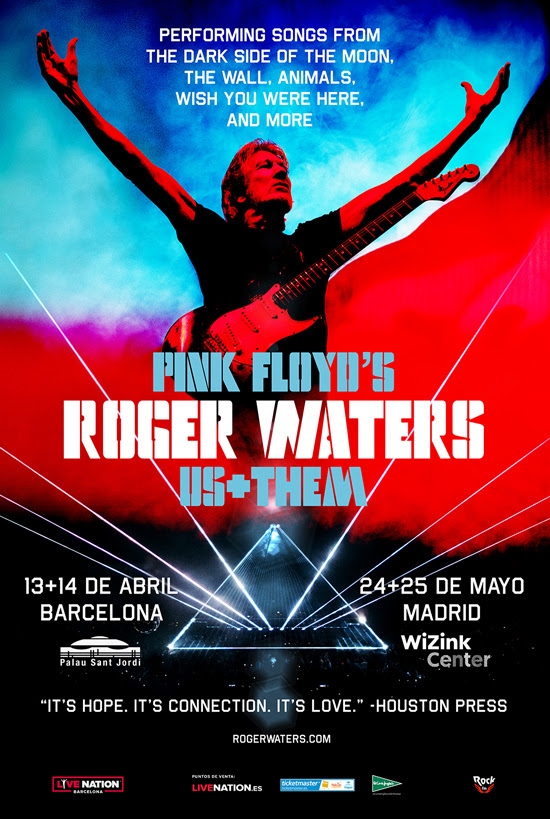 roger waters concierto barcelona madrid 2018
