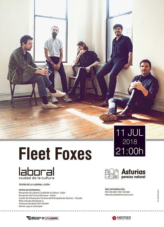 fleet foxes concierto julio