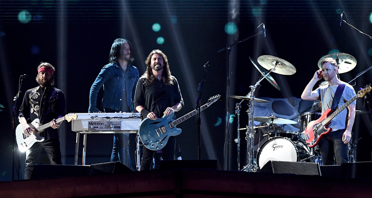 foo fighters brit