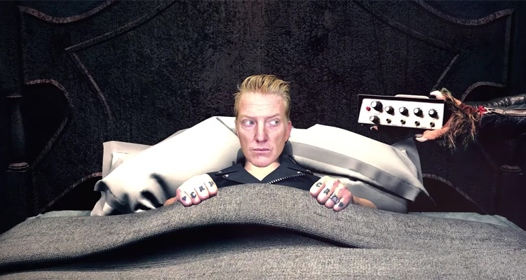 queens of the stone age videoclip head like a haunted house