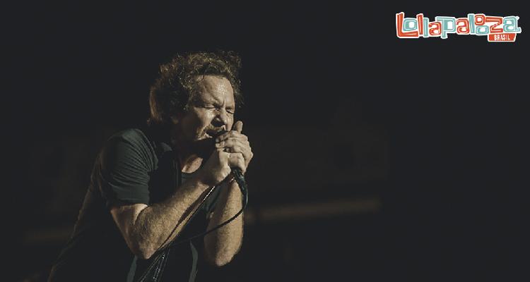 pearl jam concierto lollapalooza brasil