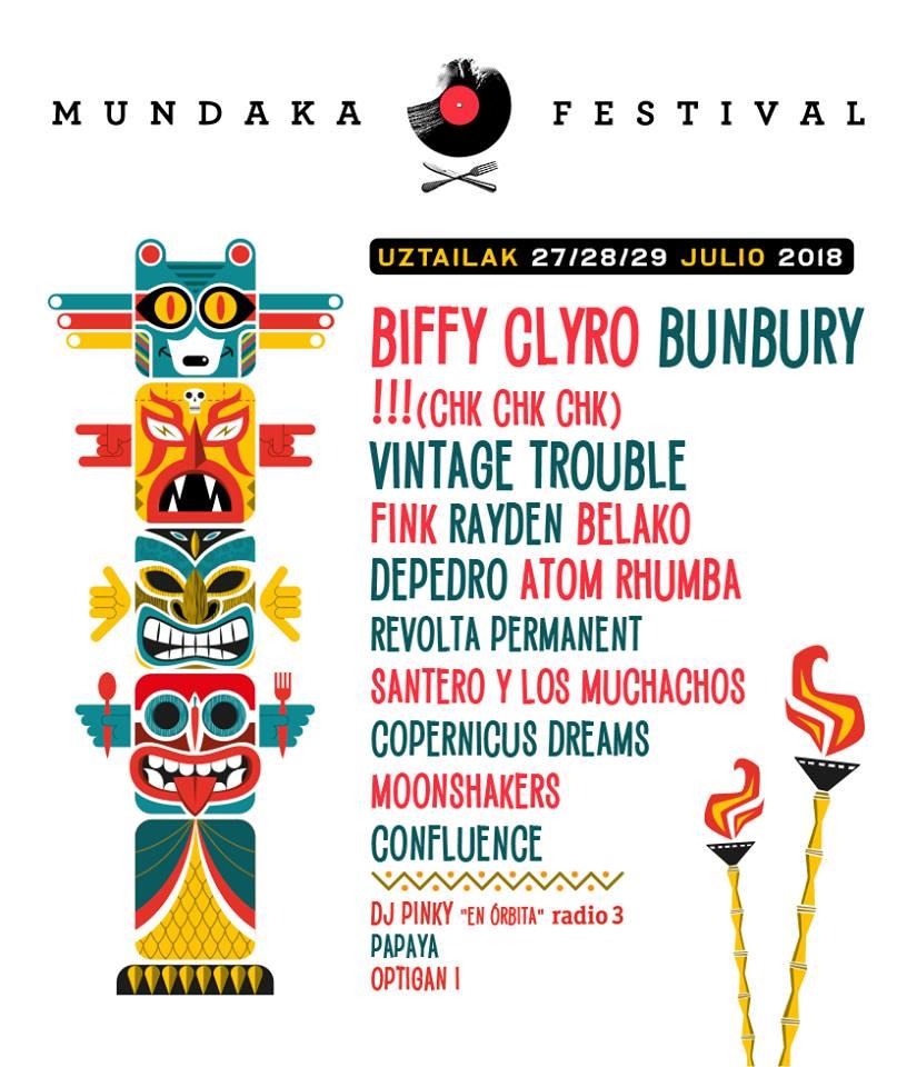 cartel mundaka festival 2018