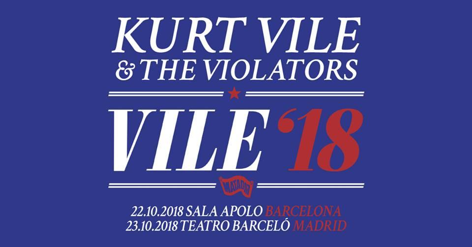 kurt vile barcelona madrid conciertos 2018