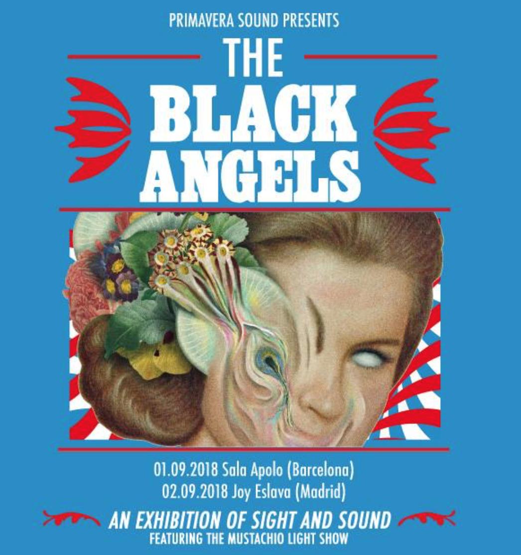 concierto the black angels barcelona madrid 2018