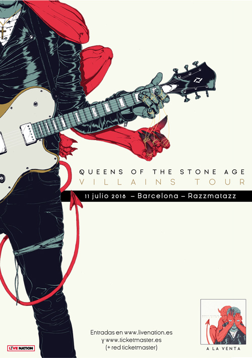 concierto queens of the stone age barcelona razzmatazz julio 2018
