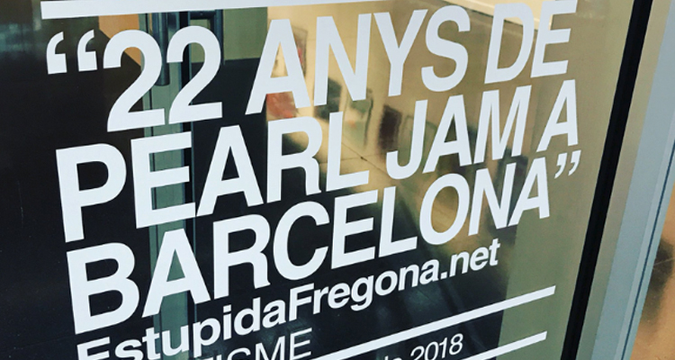 exposicion pearl jam barcelona
