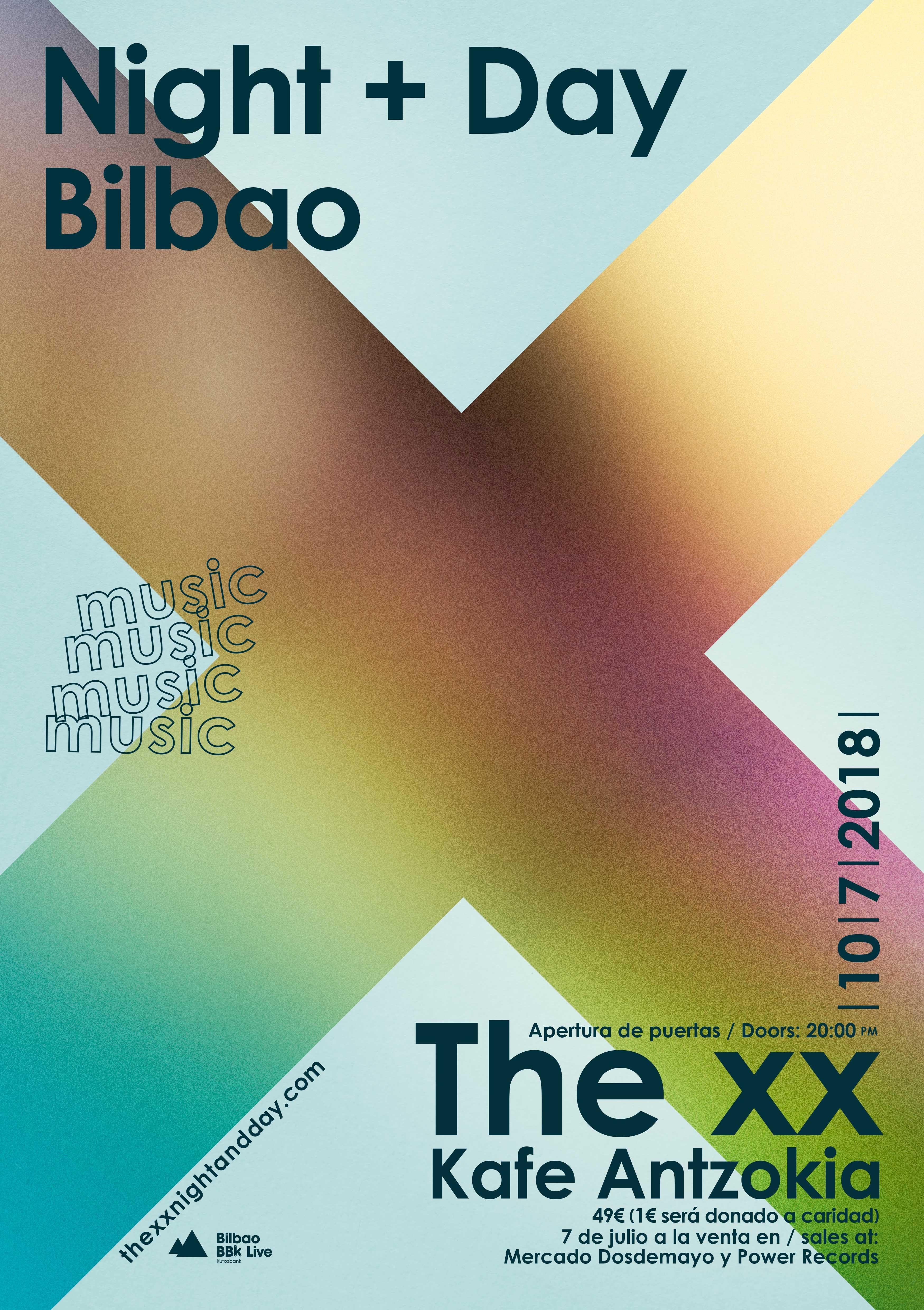 the xx concierto bilbao kafe antzokia