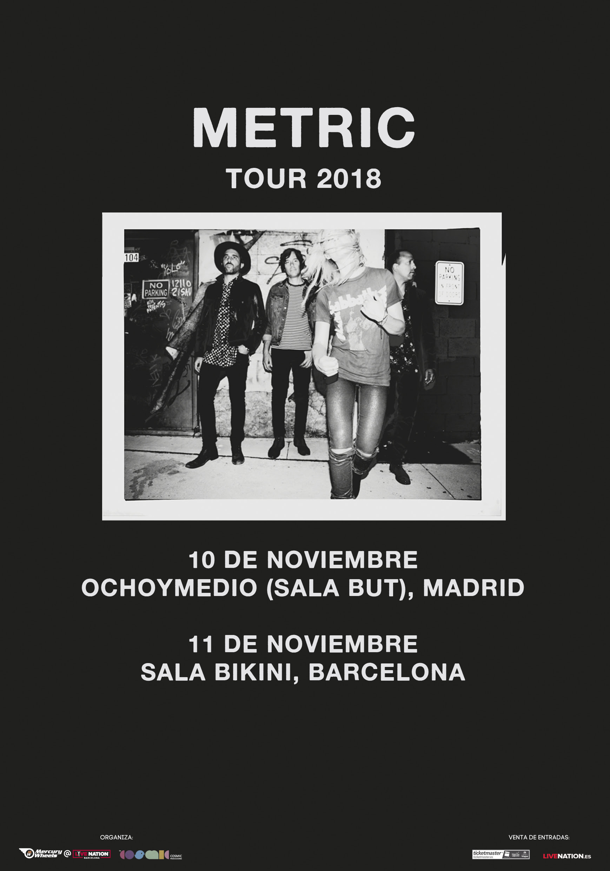 metric barcelona madrid