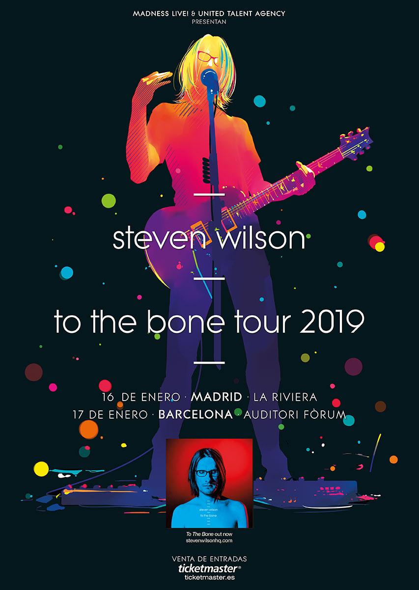 concierto steven wilson barcelona madrid 2019