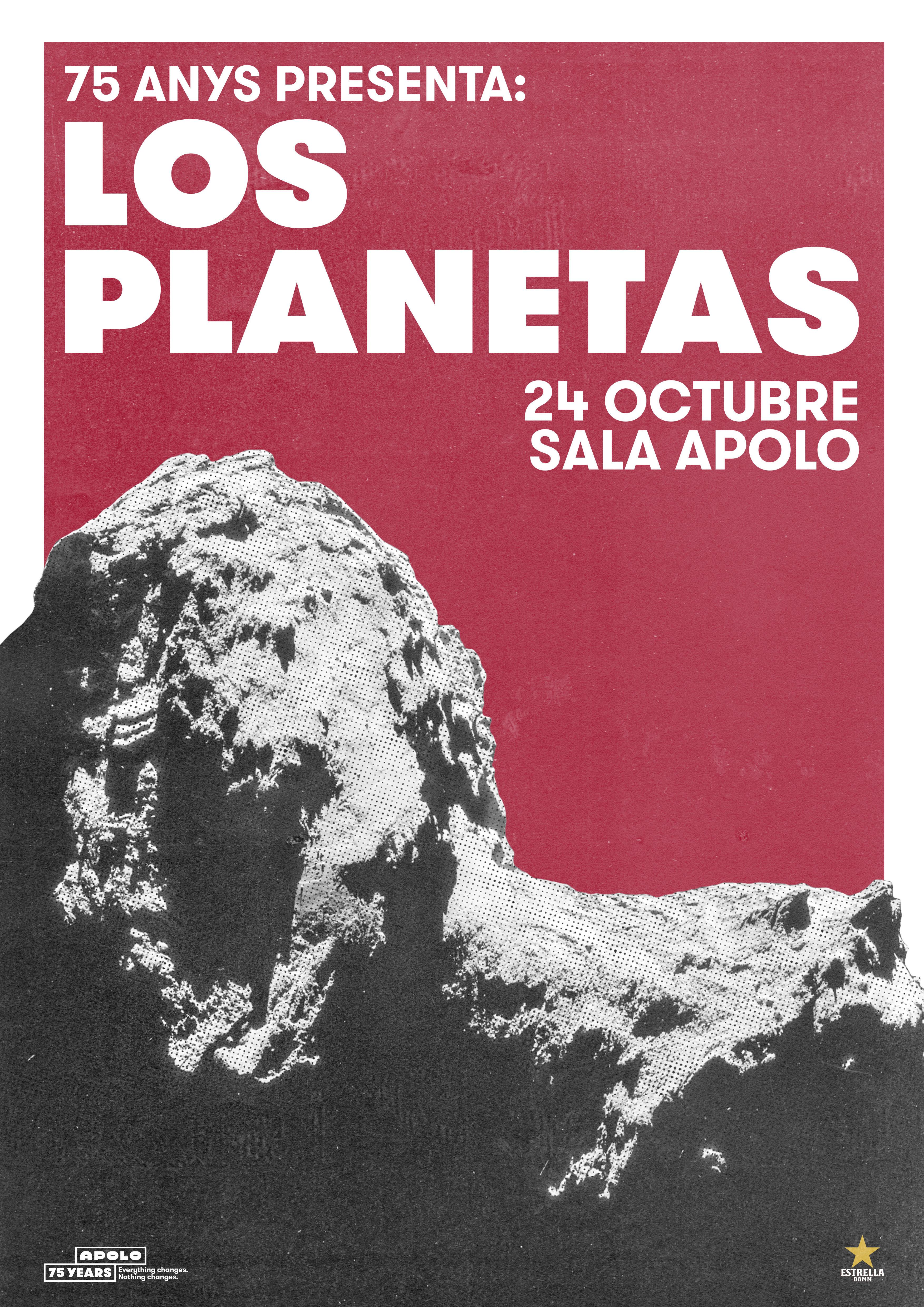 los planetas concierto barcelona octubre 2018
