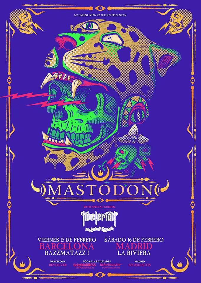 mastodon barcelona madrid 2019