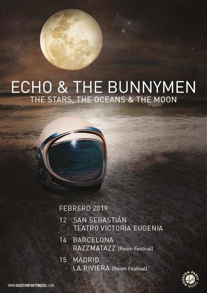echo and the bunnymen concierto barcelona madrid donostia 2019