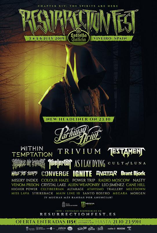 nuevas confirmaciones del Resurrection Fest 2019
