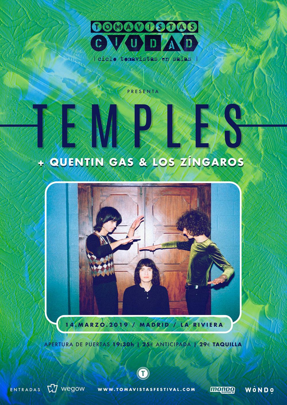 temples madrid la riviera concierto 2019
