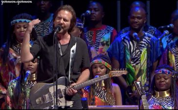 eddie vedder global citizen 2018