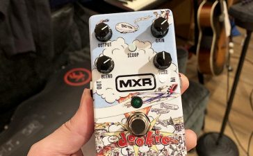 pedal de guitarra de dookie