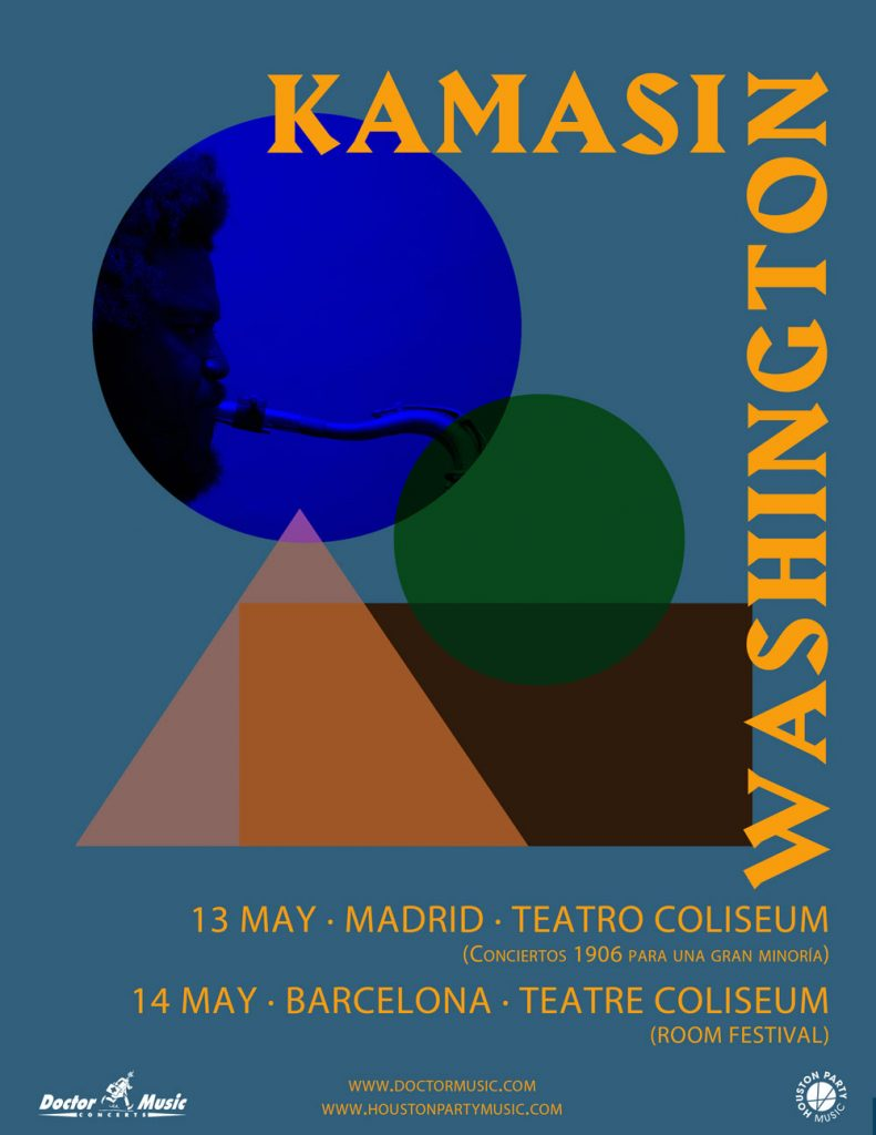 kamasi washington barcelona madrid 2019