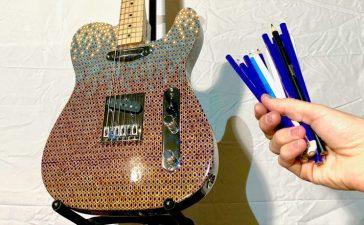 telecaster 1200 lapices de colores